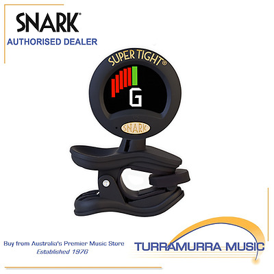 AU30.75 • Buy Snark ST8 Super Tight Clip On Chromatic All Instrument Tuner & Metronome WST8