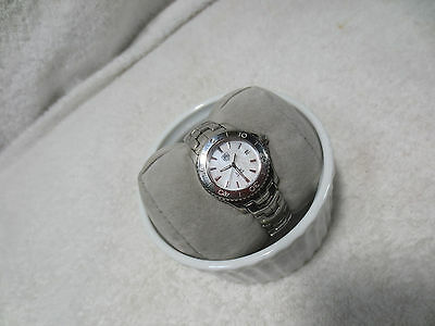 TAG HEUR WJ1313-0 LINK STAINLESS STEEL WATCH Great Condition WOMENS • 474.24£