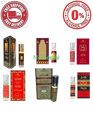 Al-Rehab Oil Concentrated Perfume , Attar, Itr, Non-Alcoholic Fragrance Oil