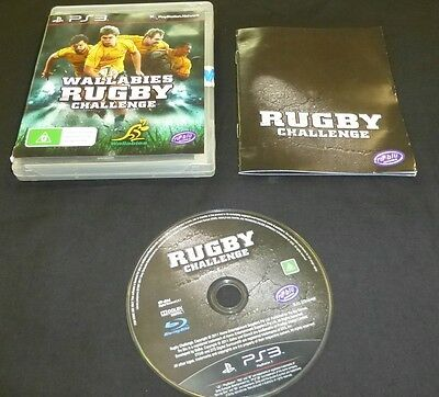 AU8.99 • Buy WALLABIES RUGBY CHALLENGE For Sony Playstation 3 - 2011 - PAL