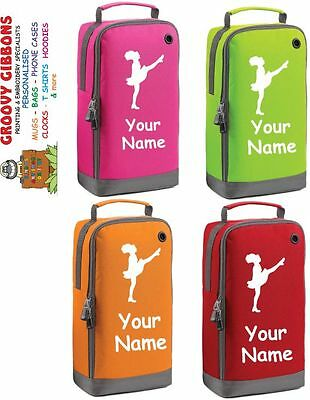$15.72 • Buy Personalised  School Dance Drama Ballet  Dance Irish Shoe Bag