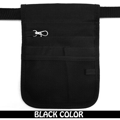 AU12.99 • Buy Nurse Vet  Physio Teacher Medical Professions Waist Belt Pouch Bag - Black