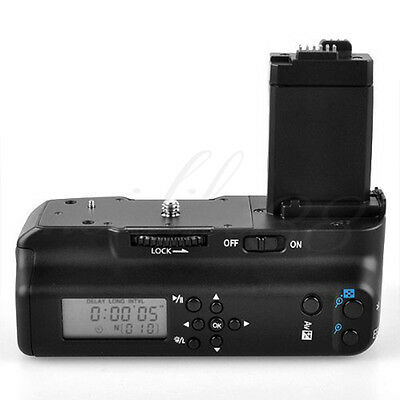 MeiKe MK550DL Vertical Battery Grip HolderWith LCD For Canon 550D 600D 650D 700D • 33.99£