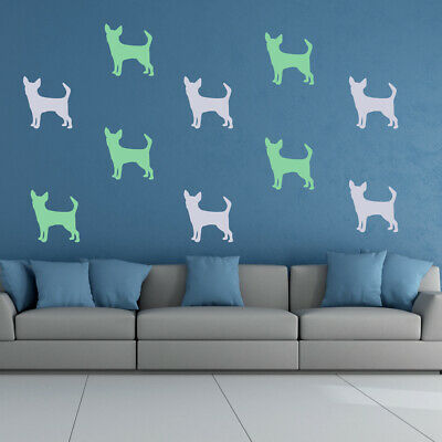 £4.98 • Buy Chihuahua Dog Pet Animals Wall Sticker Pack WS-33058