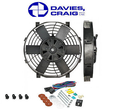 AU103.95 • Buy Davies Craig 9 Inch 12V Electrical Thermo Fan W/ Mounting Kit