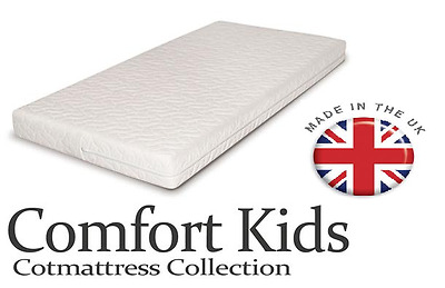 £42.99 • Buy Baby Toddler Cot Bed QUILTED AND WATERPROOF Foam Mattress In All Sizes