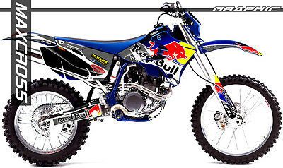 $143.40 • Buy Yamaha Wr250f Wr450f Yz250f Yz450f 2003 2005 2006 Maxcross Graphics Kit Decals01