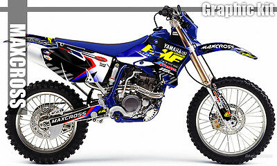 $143.40 • Buy Yamaha Wr250f Wr450f Yz250f Yz450f 2003 2005 2006 Maxcross Graphics Kit Decals03