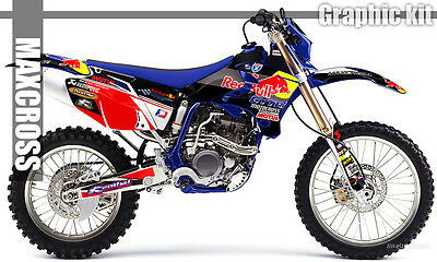 $143.40 • Buy Yamaha Wr250f Wr450f Yz250f Yz450f 2003 2005 2006 Maxcross Graphics Kit Decals04