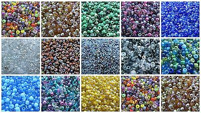 50g 8/0 Seed Beads - Mix Mixes - Choice Of Colours - UK Seller  • 1.59£