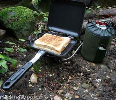 £15.95 • Buy NGT Deep Fill Sandwich Toaster Carp Fishing Camping Stove Toastie Maker