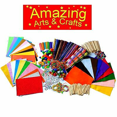 Craft Activity Box Set By Amazing Arts And Crafts • 45£