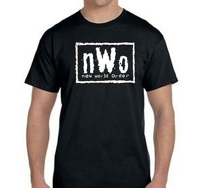 $ CDN14.10 • Buy New World Order T-Shirt NWo Logo WCW Professional Wrestling