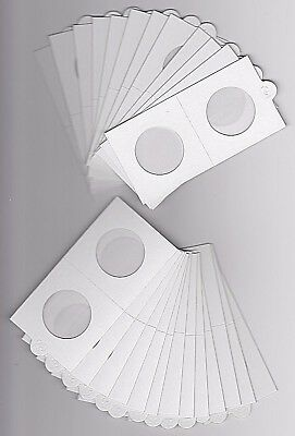 AU7.95 • Buy LIGHTHOUSE 30mm SELF ADHESIVE 2 X 2  COIN HOLDERS X 25 - SUIT FLORIN Or 20 CENT
