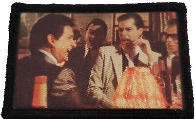 $7.99 • Buy GoodFellas Laughing Morale Patch Tactical ARMY Hook Military USA Badge