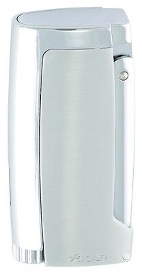 XIKAR Pulsar Triple Torch Flame Cigar Lighter With Punch - Silver - 567SL • 92.40£