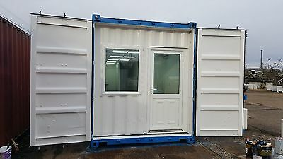 £8995 • Buy Container Conversions Portable Building Bespoke Office Space Welfare Toilet Unit