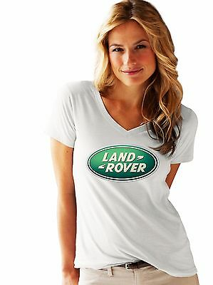 Land-Rover Woman / Lady LOGO NEW T-SHIRT FRUIT OF THE LOOM Print By EPSON • 11.99£
