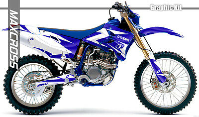 $143.40 • Buy Yamaha Wr250f Wr450f Yz250f Yz450f 2003 2005 2006 Maxcross Graphics Kit Decals08