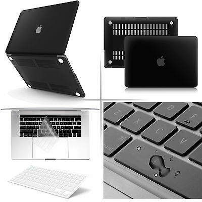 AU23.74 • Buy Matte Rubber Coated Soft Touch Plastic Case With Keyboard For MacBook Air 13inch