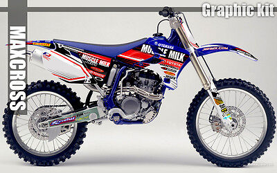 $143.40 • Buy Yamaha Wr250f Wr450f Yz250f Yz450f 2003 2005 2006 Maxcross Graphics Kit Decals11