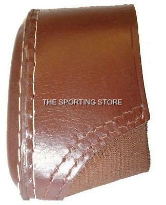 Bridle Leather Slip On Recoil Pad Clay / Game Shooting Accessories • 19.99£