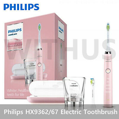 AU289.21 • Buy Philips Sonicare HX9362 Diamondclean Pink Edition Electric Toothbrush
