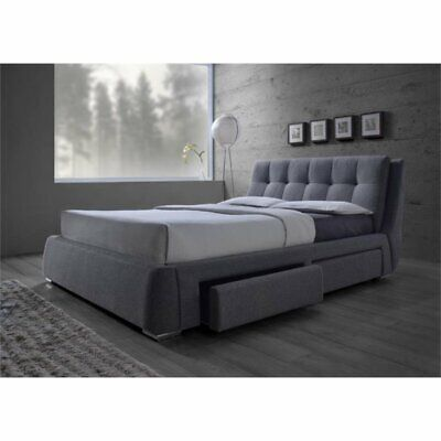 $742.83 • Buy Coaster Fenbrook Upholstered Queen Platform Bed With Storage In Gray