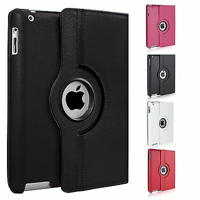 £4.95 • Buy 360 Degree Rotating Stand Case Cover For Apple Ipad 2/3/4. 9.7 2017, Mini, Air 2