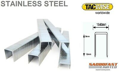 Tacwise 140 Type Stainless Steel Staples X 2 Boxes • 16.80£
