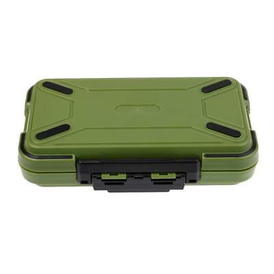 AU18.55 • Buy ABS Waterproof Fishing Gear Tool Tackle Box Utility Storage Case Organizer