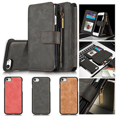 AU23.99 • Buy R15 R17 Leather Wallet Card Flip Case Cover OPPO F1s R9s R11S A57 A73 AX5 A3s 7