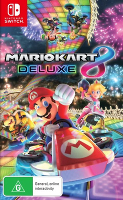 AU74.95 • Buy Mario Kart 8 Deluxe Switch Game NEW
