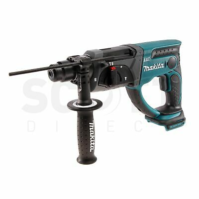 View Details Makita DHR202Z 18V Li-ion Cordless SDS Plus Rotary Hammer Drill Body Only • 104.95£