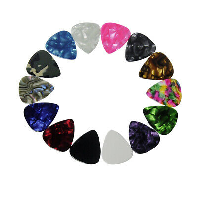 $ CDN9.53 • Buy 50pcs New Heavy 0.96mm Guitar Picks Plectrums Celluloid For Electric Guitar