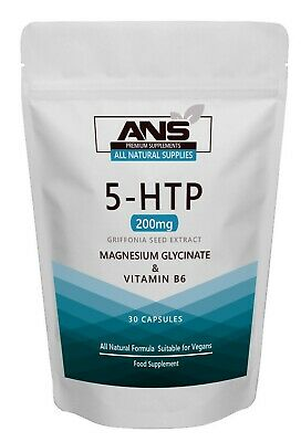 AU10.68 • Buy All Natural Supplies 5htp 200mg Capsules Natural Mood Enhancer Promotes Sleep