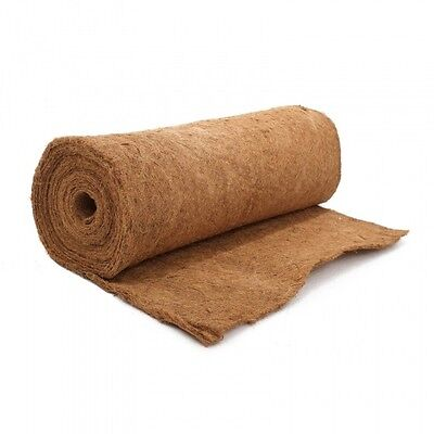 £7.99 • Buy Natural Coco Liner 1m X 0.75m  Ideal For Lining Hanging Baskets & Tubs