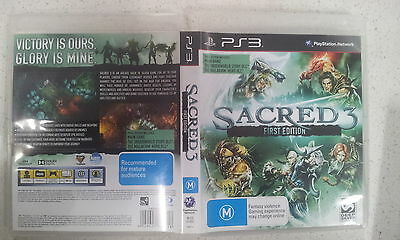 AU20 • Buy Sacred 3 First Edition Ps3