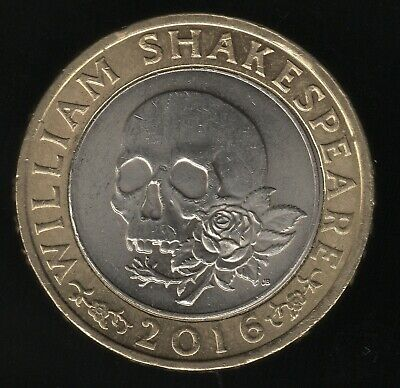 £8.78 • Buy 2016 William Shakespeare Tragedies £2 Two Pounds Coin   Pennies2Pounds