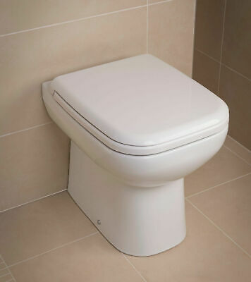 £119.95 • Buy Rak Origin Back To Wall Toilet Pan Including Seat WC Short Projection Compact