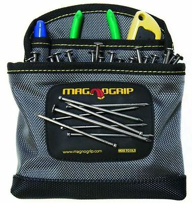 $12.99 • Buy 3-Pocket Magnetic Polyester Clip-On Tool Storage Utility Nail Pouch Organizer