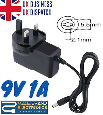 £8 • Buy Uk 9v Ac/dc Power Supply Adapter Compatible For Roberts Classiclite Dab/fm Radio