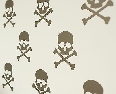 £4 • Buy Skull & Crossbones Pirate Wall Art Decals/Stickers - Various Colours & Sizes