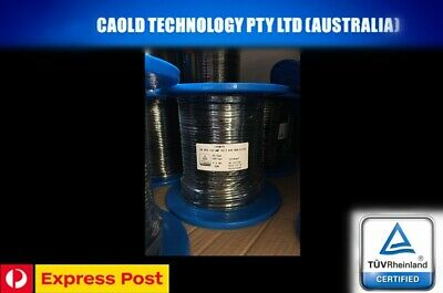 AU64.39 • Buy 30 Meters Of 4mm Twin Core Solar Cable PV1-F One Length Free Express 30m