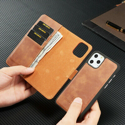 AU16.99 • Buy IPhone 12 Mini 11 Pro Max XS XR 8 7 Luxury  Leather Wallet Case Removable Cover
