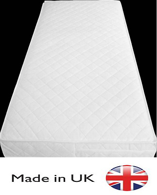 £44.99 • Buy Quilted&waterproof Cot-Bed-Mattress Baby/Junior Toddler-Breathable All Size