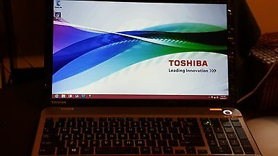 View Details Toshiba Satellite Laptop Brushed Silver Windows 8 Intel Core I5-4200 2.30GHz 6GB • 300.00$