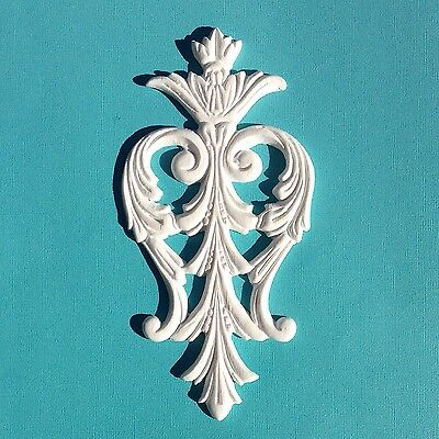 AU14.95 • Buy 1x Shabby Chic French Furniture Moulding Furniture Applique Carving Onlay