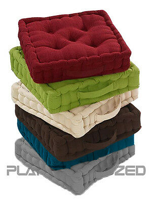 £9.99 • Buy Seat Chair Cushion Adult Chunky Garden Dining Armchair Cotton Thick Booster Pads