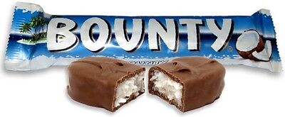 Full Box Bounty Milk Chocolate  24 X 57g  Bar Free Delivery Only £13.99 • 13.99£